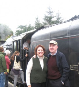 Jacobite Steam Train Betty and Frank