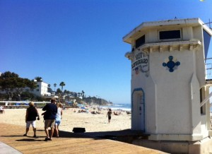 Laguna Beach Lifeguard tower 9.11