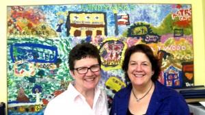 Wonderland School L.A. with Myrtle  Keefe 9.12.11