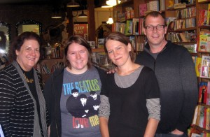 Betty, Nicky, Drew, Tim at Wild Rumpus 9.15.11