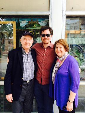Frank, Betty, Walshe in St. Louis 2015